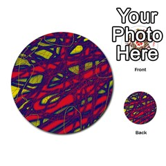 Abstract high art Multi-purpose Cards (Round)