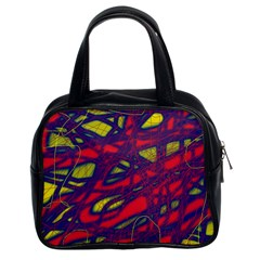 Abstract high art Classic Handbags (2 Sides)