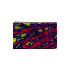 Abstract high art Cosmetic Bag (Small)