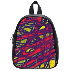 Abstract high art School Bags (Small)