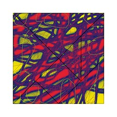 Abstract high art Acrylic Tangram Puzzle (6  x 6 )