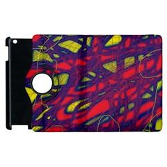 Abstract high art Apple iPad 3/4 Flip 360 Case
