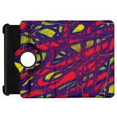 Abstract high art Kindle Fire HD Flip 360 Case