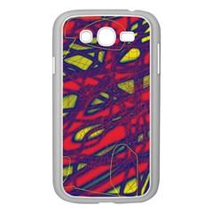 Abstract high art Samsung Galaxy Grand DUOS I9082 Case (White)