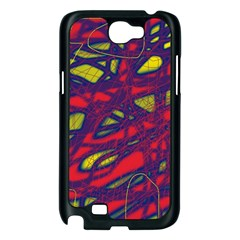 Abstract high art Samsung Galaxy Note 2 Case (Black)