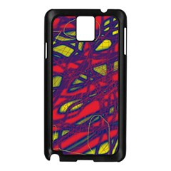 Abstract high art Samsung Galaxy Note 3 N9005 Case (Black)