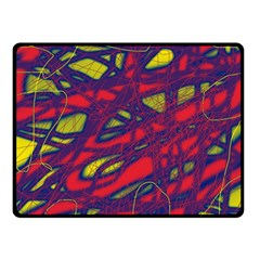 Abstract high art Double Sided Fleece Blanket (Small)