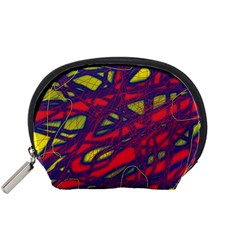 Abstract high art Accessory Pouches (Small)
