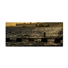 River Plater River Scene At Montevideo Hand Towel