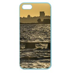 River Plater River Scene At Montevideo Apple Seamless iPhone 5 Case (Color)
