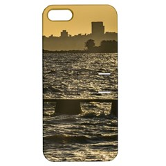 River Plater River Scene At Montevideo Apple iPhone 5 Hardshell Case with Stand