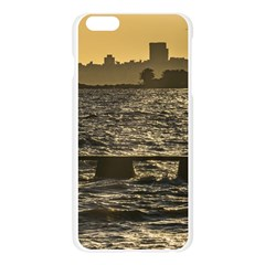 River Plater River Scene At Montevideo Apple Seamless iPhone 6 Plus/6S Plus Case (Transparent)