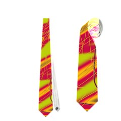 Orange neon Neckties (Two Side)