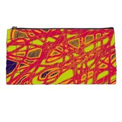 Orange neon Pencil Cases