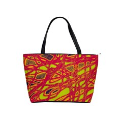 Orange neon Shoulder Handbags