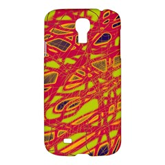 Orange neon Samsung Galaxy S4 I9500/I9505 Hardshell Case