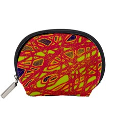 Orange neon Accessory Pouches (Small)