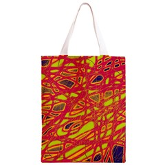 Orange neon Classic Light Tote Bag