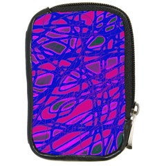 Blue Compact Camera Cases