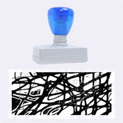 Blue Rubber Stamps (Large)