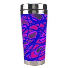Blue Stainless Steel Travel Tumblers