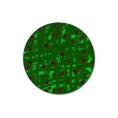 Green  Magnet 3  (Round)