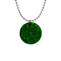 Green  Button Necklaces