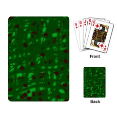 Green  Playing Card