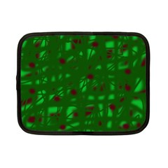 Green  Netbook Case (Small)