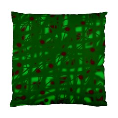 Green  Standard Cushion Case (Two Sides)