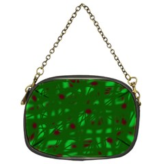 Green  Chain Purses (Two Sides)