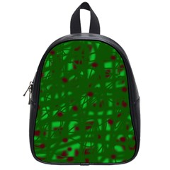 Green  School Bags (Small)