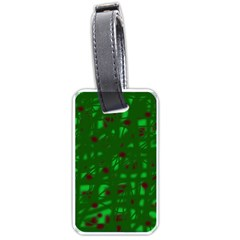 Green  Luggage Tags (Two Sides)