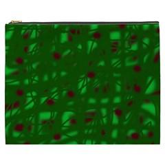 Green  Cosmetic Bag (XXXL)