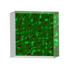 Green  4 x 4  Acrylic Photo Blocks