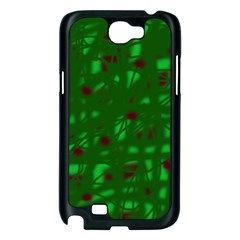 Green  Samsung Galaxy Note 2 Case (Black)