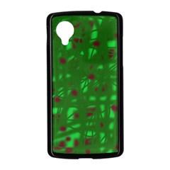 Green  Nexus 5 Case (Black)