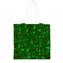 Green  Grocery Light Tote Bag