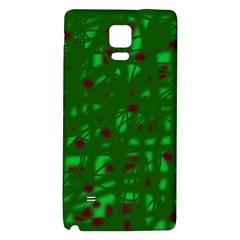 Green  Galaxy Note 4 Back Case