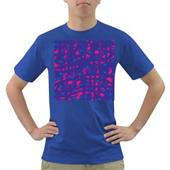 Blue and pink neon Dark T-Shirt