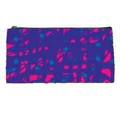 Blue and pink neon Pencil Cases