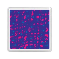 Blue and pink neon Memory Card Reader (Square)