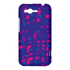 Blue and pink neon HTC Rhyme
