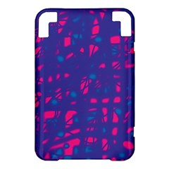 Blue and pink neon Kindle 3 Keyboard 3G