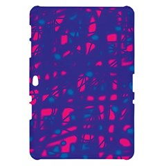 Blue and pink neon Samsung Galaxy Tab 10.1  P7500 Hardshell Case
