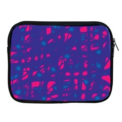 Blue and pink neon Apple iPad 2/3/4 Zipper Cases