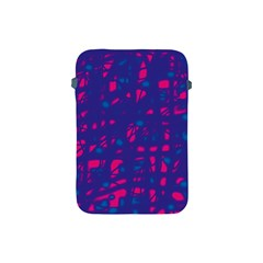 Blue and pink neon Apple iPad Mini Protective Soft Cases
