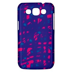 Blue and pink neon Samsung Galaxy Win I8550 Hardshell Case