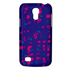 Blue and pink neon Galaxy S4 Mini