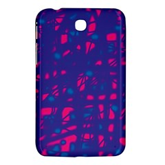 Blue and pink neon Samsung Galaxy Tab 3 (7 ) P3200 Hardshell Case